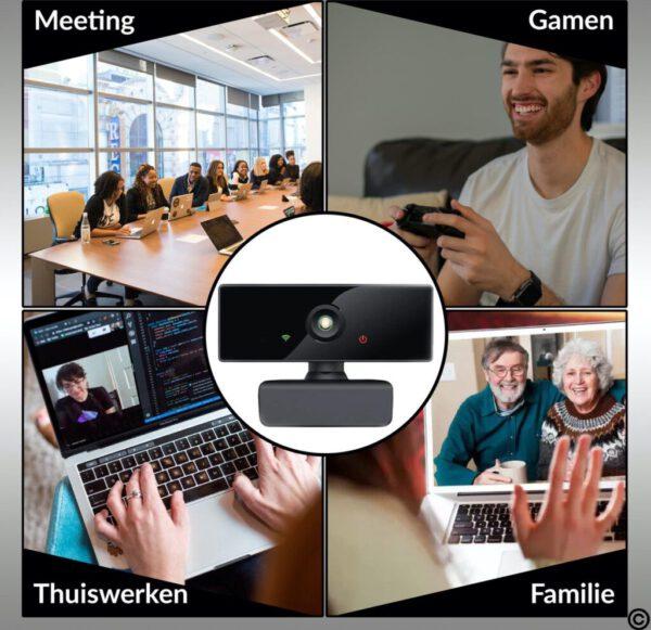 thuis webcam of voor werk