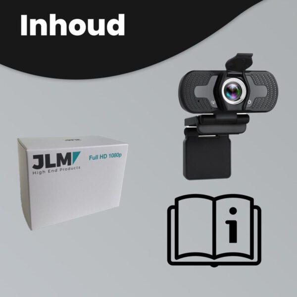 webcam 1080p inclusief cover